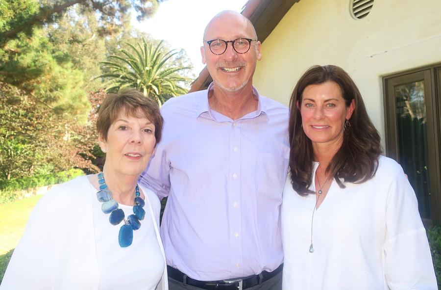 HSB Ambassador Linda Yawitz, CEO David Selberg, and HSB Ambassador Mary Blair.