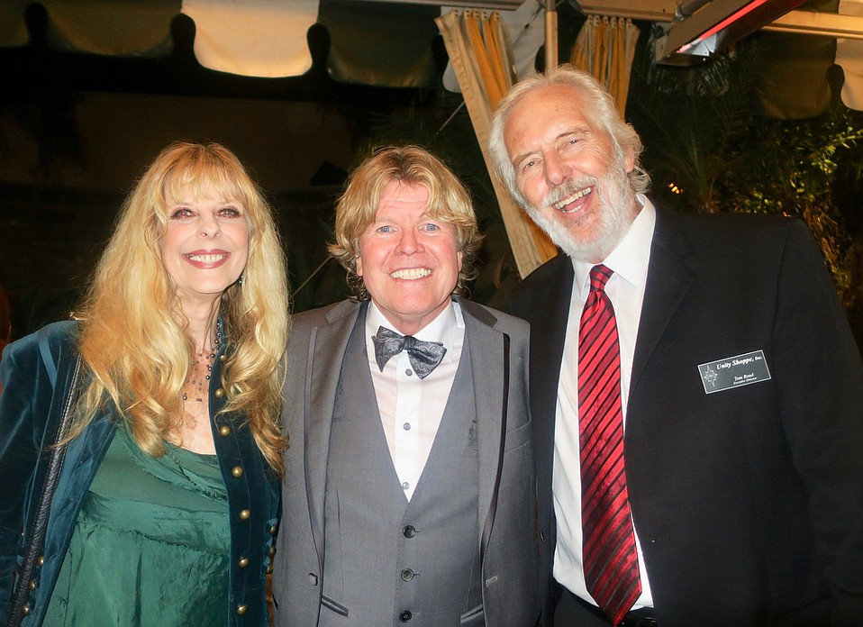 Marcia Reed, Peter Noone, and Executive Director Tom Reed.