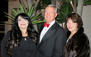Development Director Yolanda Vasquez, Regional Director Daniel Grimm, and Advisory Boardmember Miny Willmon.