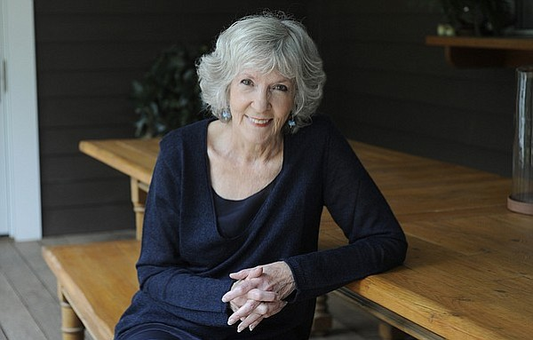 Sue Grafton at her Montecito home. (July 23, 2015)