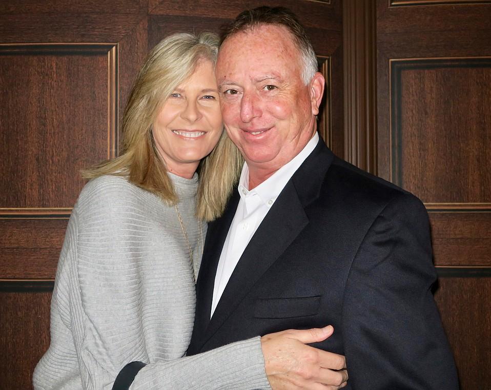 Kirsten Springer and Santa Barbara Center for the Performing Arts President Craig Springer.