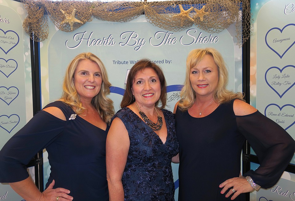 Event Chair and Boardmember Sarah Jaimes, Executive Director Monica Merryman, and Business Development Director Angela Miller-Bevan.