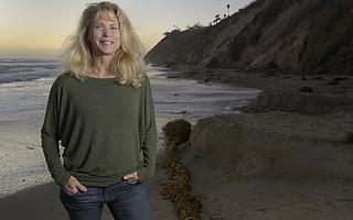 Ginny Kuhn at Arroyo Burro Beach.