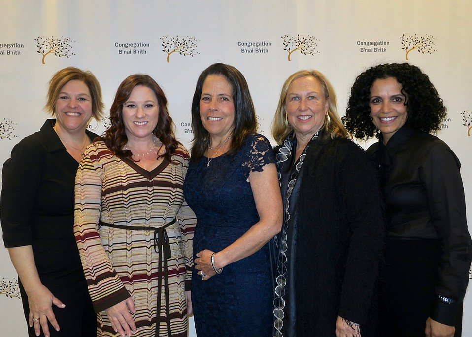 Event Co-chairs Elizabeth Gaynes (CBB executive director), Bethy Fineberg, Marcy Wimbish, Diane Zipperstein, and Liat Wasserman