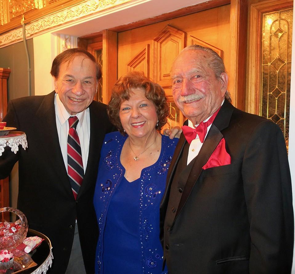 Songwriter Richard Sherman, Proprietors Arlene and Milt Larsen
