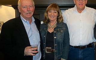 Jim Poett (Rancho San Julian), CEO Nita Vail, and Event Cohost Eric Hvolboll (La Paloma Ranch)