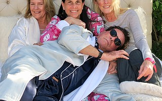 SBIFF Boardmembers and Education Committee Members: Mimi deGruy, Robin Himovitz, Lisa Solana, and (front) Chris Lancashire