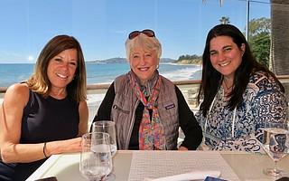 Boardmember Gretchen Lieff, Boardmember Ann Smith, and Director of Development Ariana Katovich