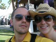 Music editor Sarah Hammill and news and web editor Drew Mackie.