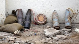 Improvised explosive devices (IEDs) in Iraq