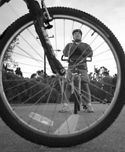 "WHEEL SAFETY: Chuck Anderson offers some cycling safety tips from the program ""Street Skills for Cyclists."""