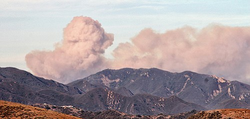 Another angle on the Rancho Wildland Fire from Saturday