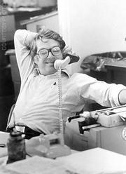 Barney Brantingham in the '70s.