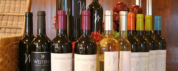 Wines from Westerly Vineyard