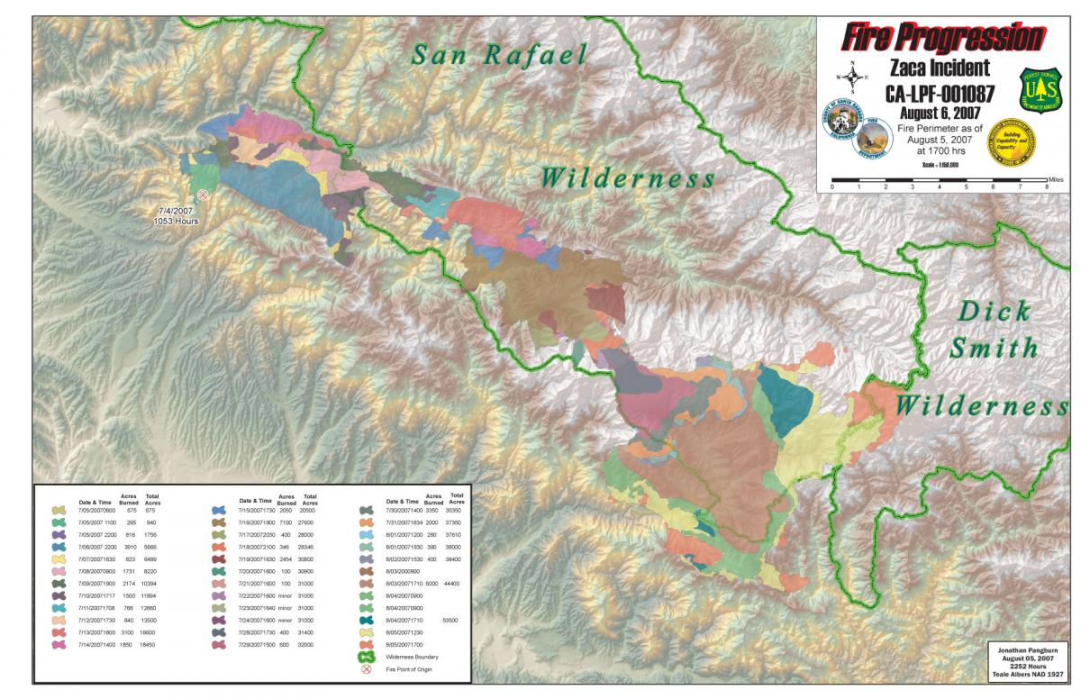 Zaca Fire Incident Information