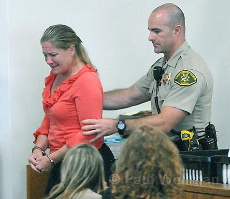 Amanda Leigh Charis was sentenced to a year in jail for her four felony convictions.