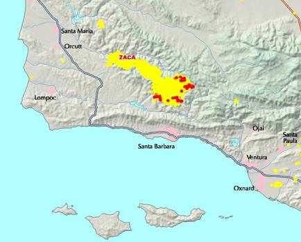 Zaca Fire Morning Update