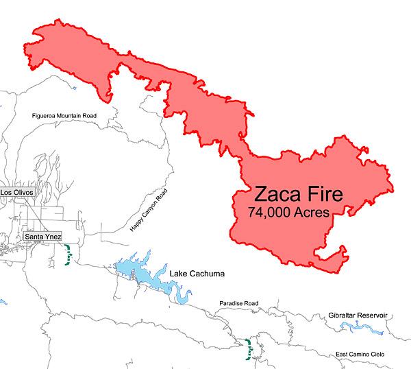 Zaca Fire Update