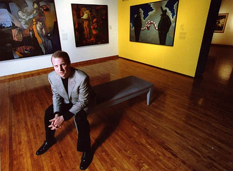 Gregorio Luke is the director of the Museum of Latin American Art (MoLAA) in Long Beach.