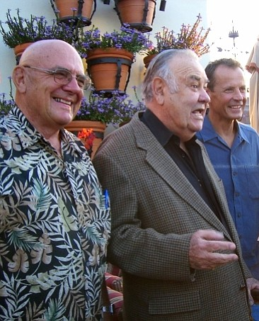 Jonathan Winters and crew
