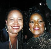 Tanya Guiliacci and Shirley Caesar