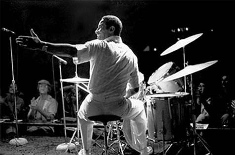 Max Roach at Keystone Korner in San Francisco in 1979.