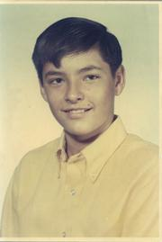 Robin Cook at age 13.