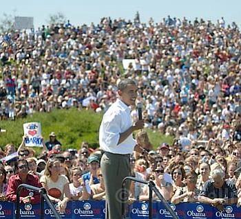 Obama at SBCC