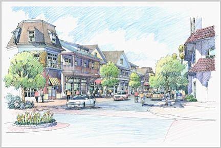 Santa Barbara County's I.V. Master Plan illustration