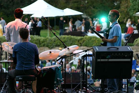 James Joyce staple Ulysses S. Jasz will take its show to the Sunken Gardens this week as part of the ongoing Courthouse Jazz Series.