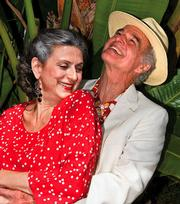 Franca Barchiesi (Ana) and Rudolph Willrich (Charles) are having a secret affair in <em>The Clean House</em>.