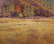 """Mustard Shed"" by Whitney Brooks Abbott."