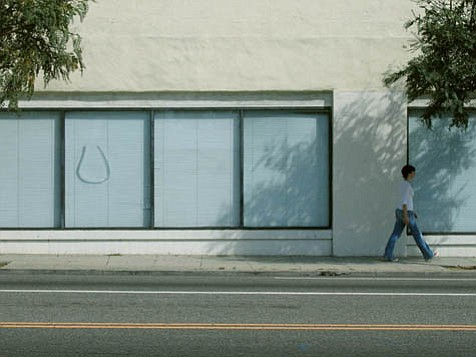 While investigating the streets of Los Angeles, Sara Wookey took photographs that will be projected as part of her performance, <em>Walking L.A.</em>
