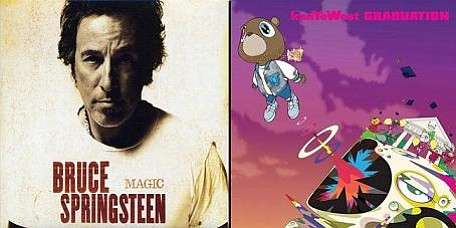 Bruce Springsteen's Magic and Kanye West's Graduation