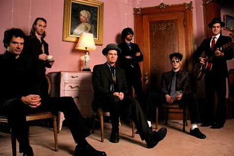 The genre-blending sounds of Detroit's Electric Six will rock through town and grace Velvet Jones this weekend. The band is currently touring in support of its new album, I Shall Exterminate Everything Around Me That Restricts Me From Being The Master.