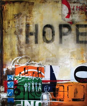 """Ray Phillips's """"Hope II,"""" 2007."""