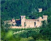 Castello di Amorosa from afar.