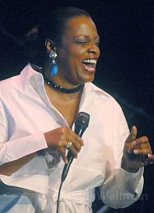 Grammy-winner Dianne Reeves sang an excellent and varied collection of hits when she stopped in Santa Barbara.