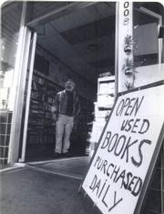 Ted Tafejian at the store's original location, 1978.