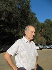 Former county supervisor Bill Wallace, who also has a trail named for him in El Cap Canyon.