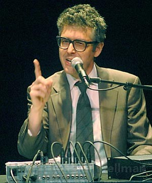 "Host of PRI's beloved weekly program This American Life, Ira Glass gave a brilliant live presentation full of his signature ""pleasurable surprises."""