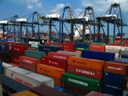Shipping containers are piling up at ports around the country, with nowhere to go.