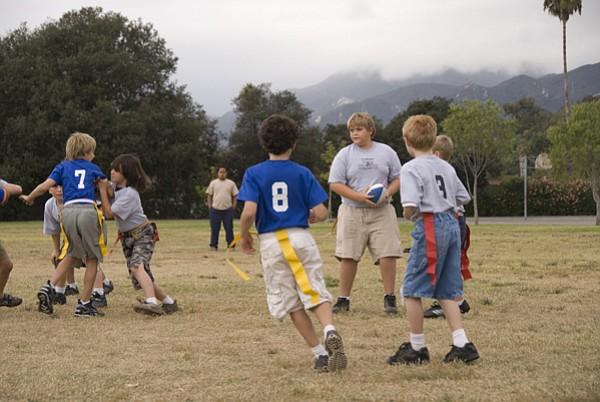 Like these flag footballers, everyone loves recreating in Goleta.