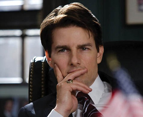 Cruise control: Tom Cruise is a senator and presidential hopeful in <em>Lions for Lambs</em>.