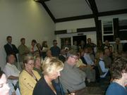 More than 70 people showed up for the Montecito Association meeting on Tuesday, November 13, where Rick Caruso unveiled his revamped plans for the Miramar Hotel.