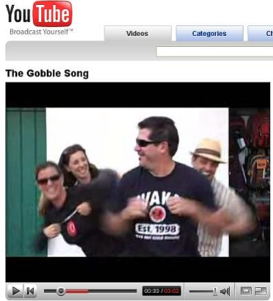 """The Gobble Song"" is blowing up on YouTube."