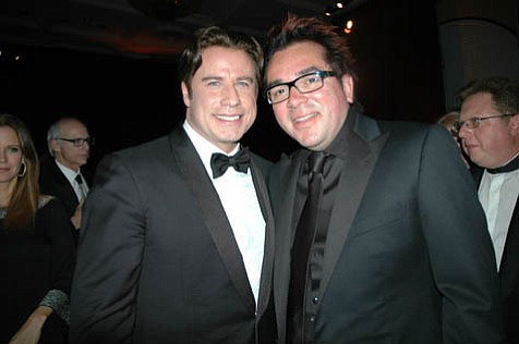 John Travolta and Roger Durling