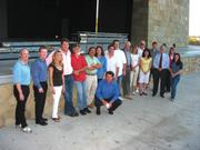 From left: Monte Brown, Greg Faulkner, Wendy Barels, Scott Brittingham, Richard Kelty, Mike Mendoza, Paul Dore, Sandy Stahl, Paul Colombo, Brett Burkey, Eric Lassen, Lori Kari, Sam Scranton, Patti Stathis, Rick Boller, George Short, Beth Dolinsek, and Allison Fitton.