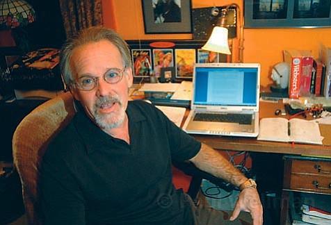 James Kahn at his home in Santa Barbara.