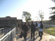 The 8 a.m. rush at Dos Pueblos High.